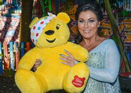 Jessie Wallace (Children in Need 2018)