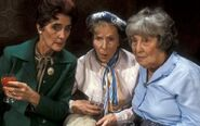 Dot Cotton and Ethel Skinner and Lou Beale