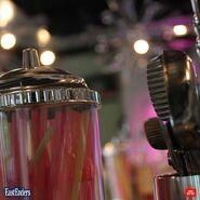 The Albert's straw dispenser