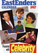 EastEnders 1987 Calendar Celebrity Weekly