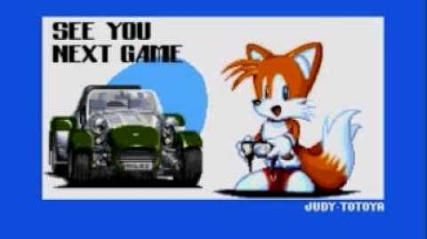 Sonic The Hedgehog CD Secret Message (1 5)