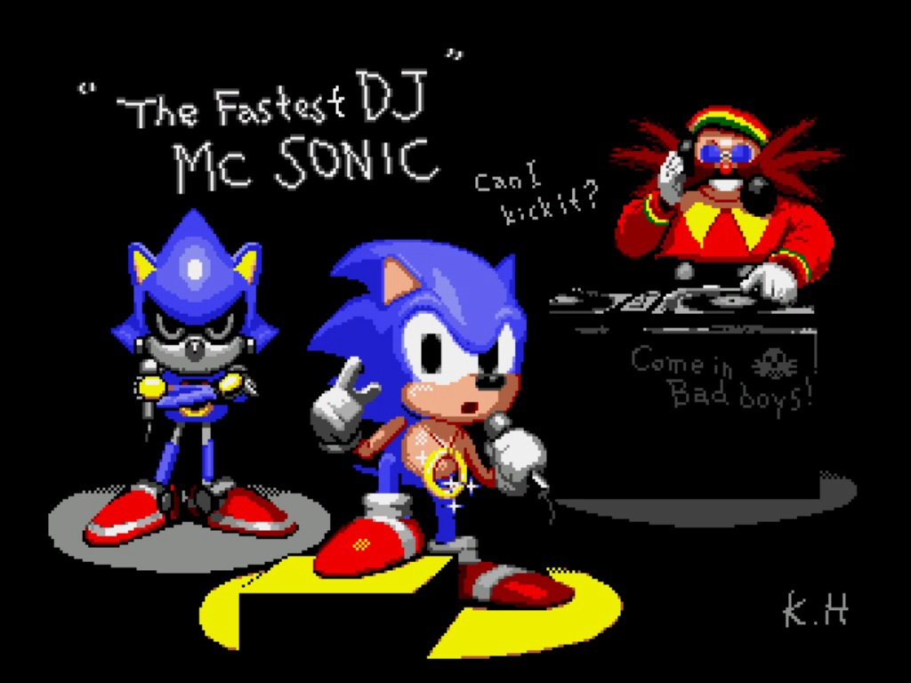Sonic The Hedgehog Cd Easter Eggs Wiki Fandom
