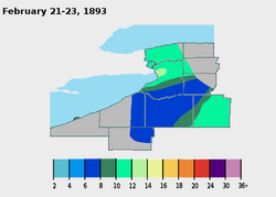 February 21-23, 1893