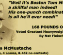 Boston Tom McMustache