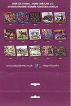 Cat Friends Crystal Art Card Kit - 18 x 18cm,