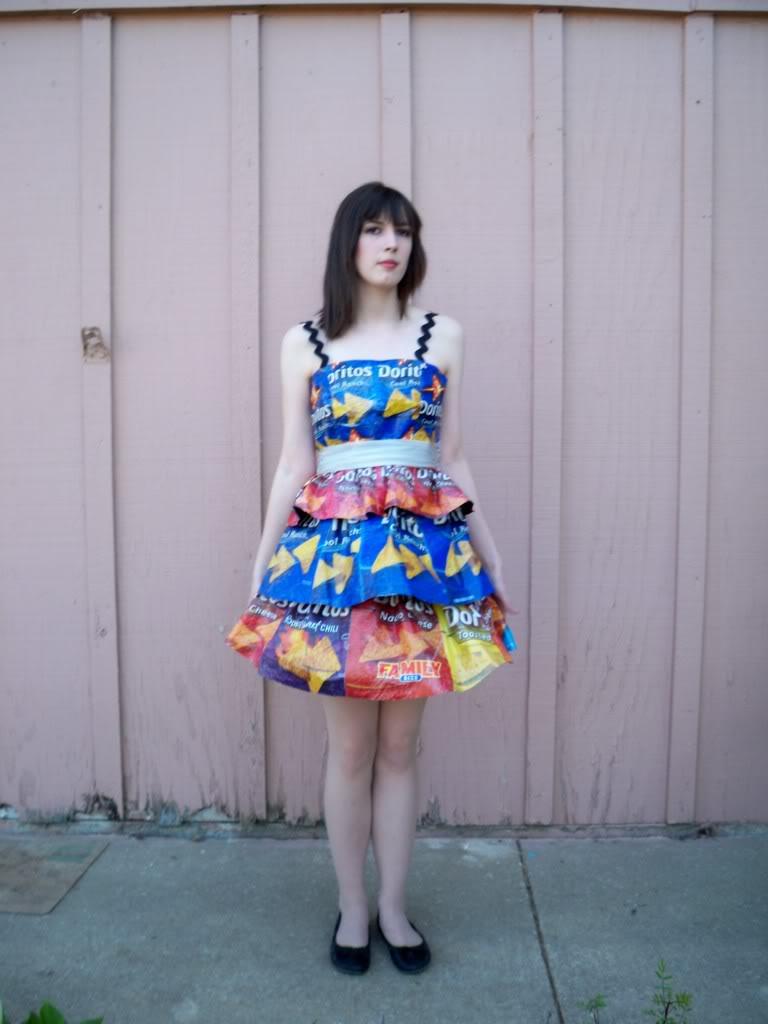 User Blog Meganhassler Doritos Bag Dress Easy Crafts