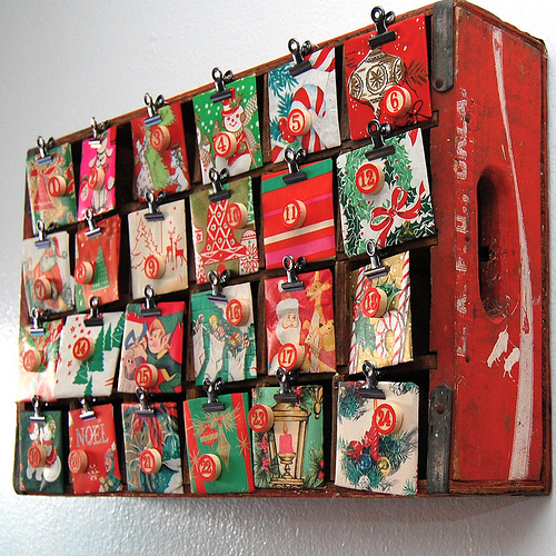 Make Your Own Calendar Art And Craft : Coca cola advent calendar easy crafts wiki fandom