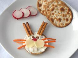 Easter craft food bunny