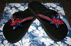 Patriotic Flip Flops 2