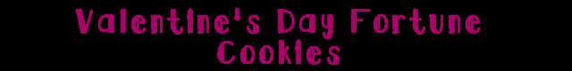Vdayfortunecookies