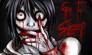 Jeff the killer go to sleep by saikias956-d6096sv