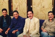 The Sotto Brothers- (from left to right) Vic, Val, Tito, and Maru