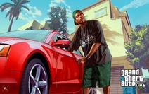 GTA V Promo Lamar Davis 01