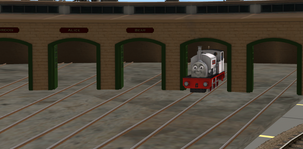 Tidmouth Depot Roundhouse