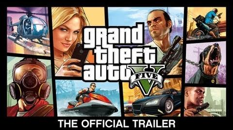 Grand Theft Auto V The Official Trailer