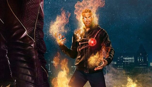 Jax Jackson as Firestorm on Arrow