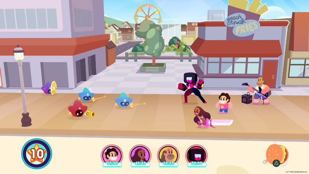 A screenshot for Steven Universe: Save the Light.