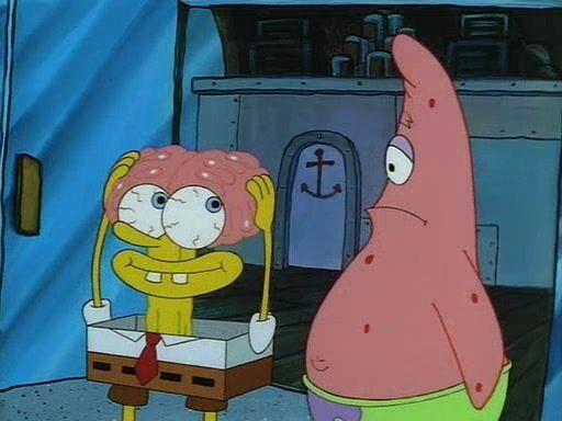"Spongebob's ""Costume"""