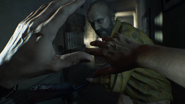 Resident Evil VII New Trailer 7 Biohazard Bearded Man
