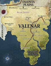 D&D - 4th Edition - Eberron Map Valenar