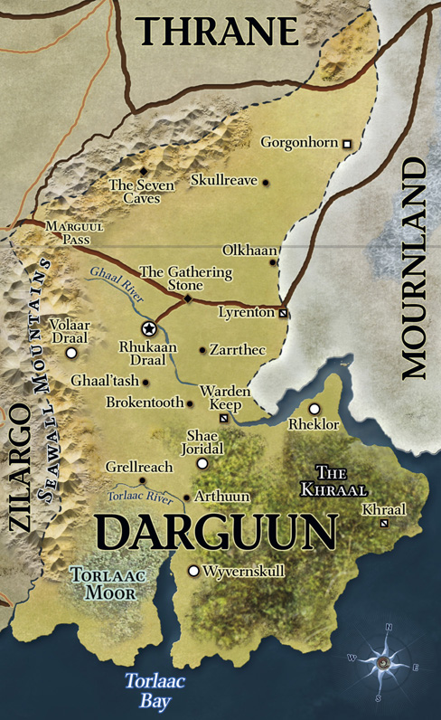 Du0026D   4th Edition   Eberron Map Darguun