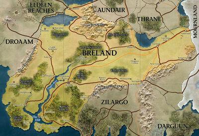 Brelandkarte