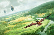 Dragonhawk Rider over Aundair
