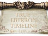 Eberron Timeline