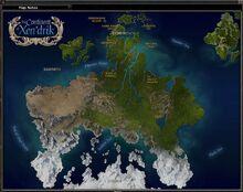 Xen'drik Map DDO