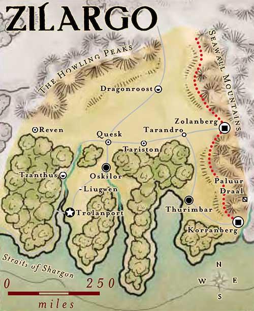 Map Of Zilargo
