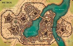 Metrol map