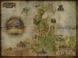 Map of Northern Xen'drik
