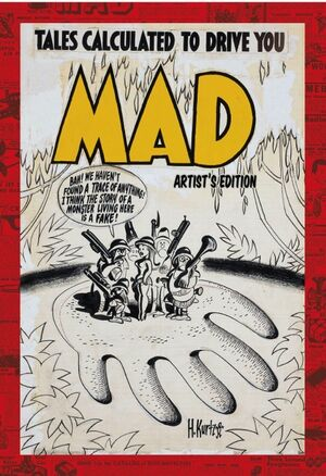 MAD Magazine Artist's Edition Cover