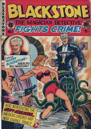 Blackstone, the Magician Detective Fights Crime Vol 1 1