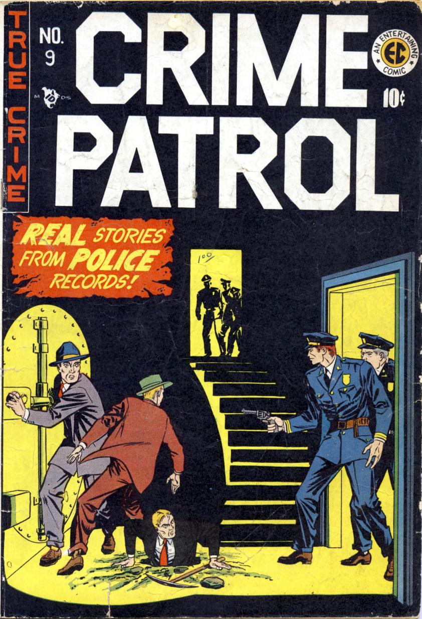 Crime Patrol Vol 1 | EC Comics Wiki | FANDOM powered by Wikia