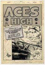 Aces High Vol 1 1 Original Cover Artwork