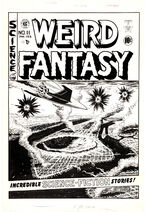 Weird Fantasy Vol 1 11 Original Art for Cover Art