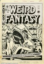 Weird Fantasy Vol 1 7 Original Cover Artwork