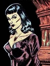 Drusilla picture 1 - Johnny Craig comic art - EC Comics Horror Host