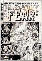 Haunt of Fear Vol 1 25 Original Cover Artwork
