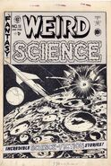 Weird Science Vol 1 11 - Original Cover Artwork