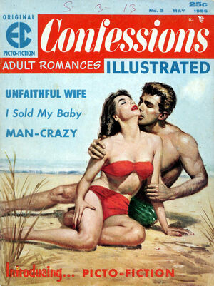 Confessions Illustrated Vol 1 2