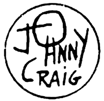 JOHNNY CRAIG SIGNATURE TRANSPARENT