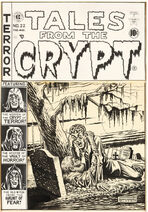Tales from the Crypt Vol 1 22 Original Cover Artwork