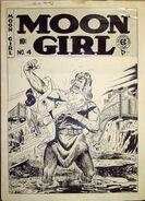 Moon Girl Vol 1 4 Original Cover Art