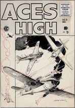 Aces High Vol 1 5 Original Cover Artwork