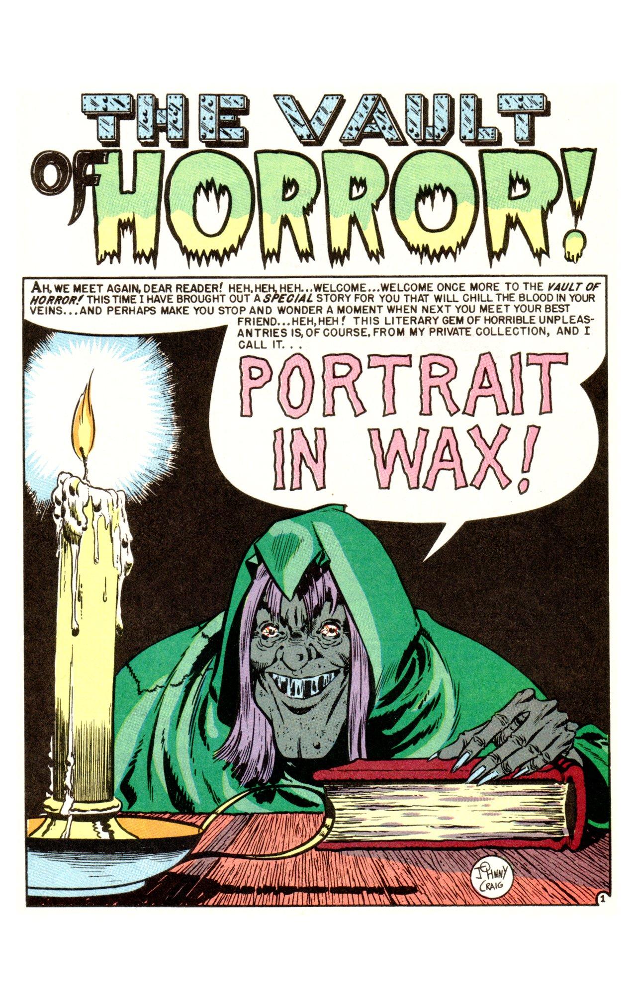The Ec Archives Vault Of Horror Vol 1