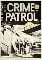 Crime Patrol Vol 1 8 Original Cover Artwork
