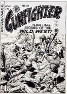 Gunfighter Vol 1 10 Original Art