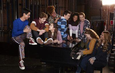 High School Musical : La comédie, la série